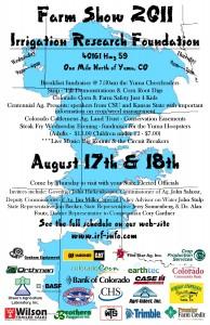 2011 Farm Show Poster