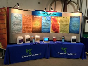 Grower's Source Farm Show Booth